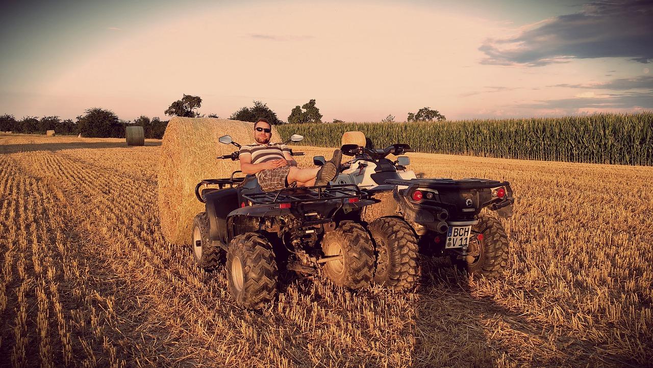 Štirikolesnik traktor novost na področju kmetijske mehanizacije